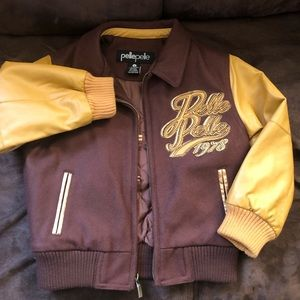 Boys Pelle Pelle Leather Jacket